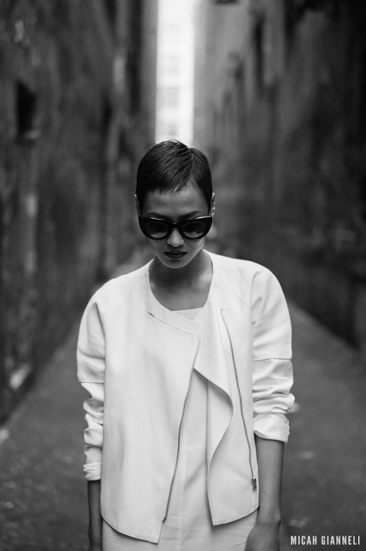 Micah Gianneli_Jesse Maricic photographer_Controle Creatif_Thierry Lasry_Street style editorial_Saba_Glassons_Kookai_Sophie Hulme_The Mode Collective_Black and white editorial_Melbourne fashion style_Winter editorial_Top fashion blog_Leica