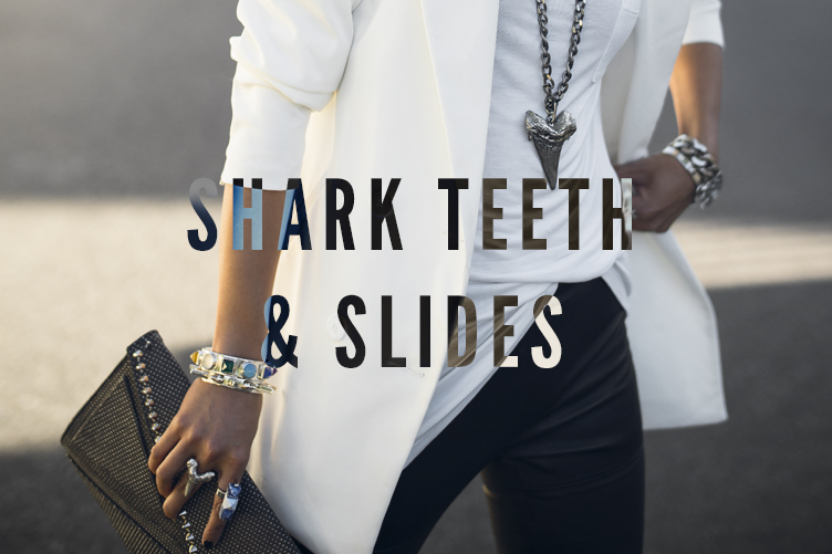Shark Teeth & Slides