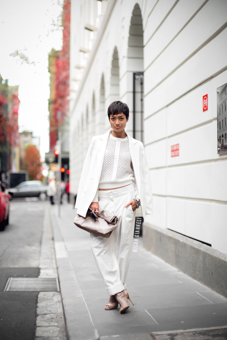 Micah Gianneli_Best top personal style fashion blog_Rihanna style_All white fashion editorial_Street style editorial_Blesse'd Are The Meek_Lacoste_Wanted Shoes_Mode Collective_Cazal Eyewear_Androgynous editorial