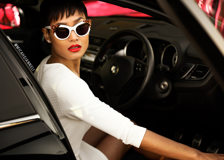 Micah Gianneli_Best top Australian fashion style blog_Rihanna Riri style_Car fashion editorial campaign_Alfa Romeo Giulietta campaign editorial review_Alfa Romeo 90th Anniversary Giulietta QV_Top Gear_