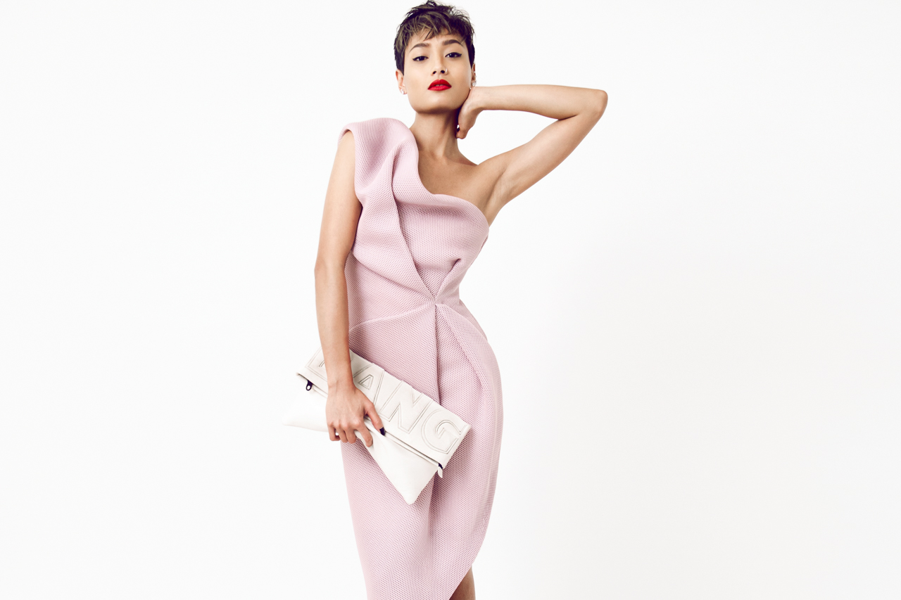 Micah Gianneli_Best top fashion style beauty lifestyle blogger_Rihanna Riri style_Australian label_Bei Na Wei_Bespoke PR_Tony Bianco_Vogue editorial_Elle Tarplin_Short pixie hair_