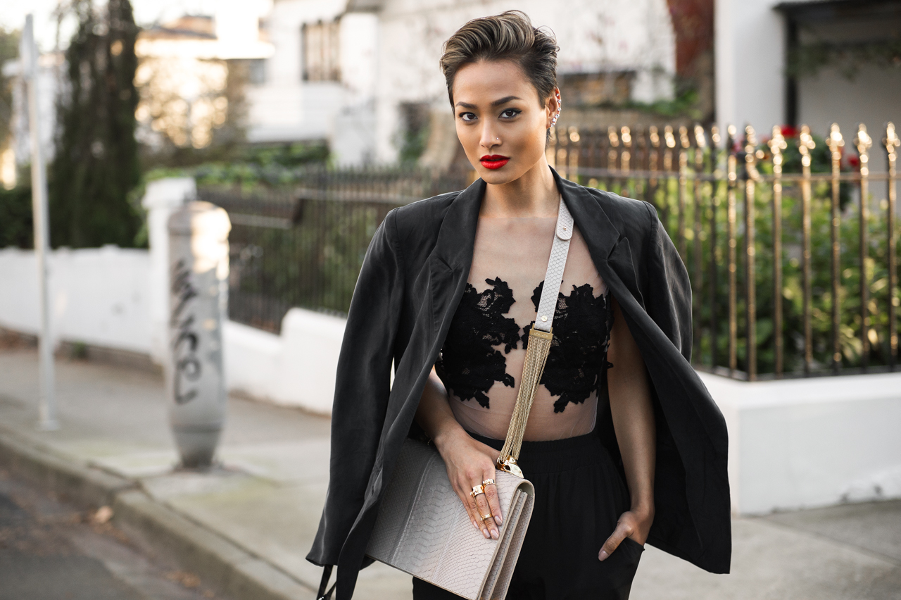 Micah Gianneli_Top fashion style beauty blogger_Rihanna Riri style_Street style_Lingerie_SJ Lingerie_Secret South_Nine West_Lya Lya_Short hair style women-