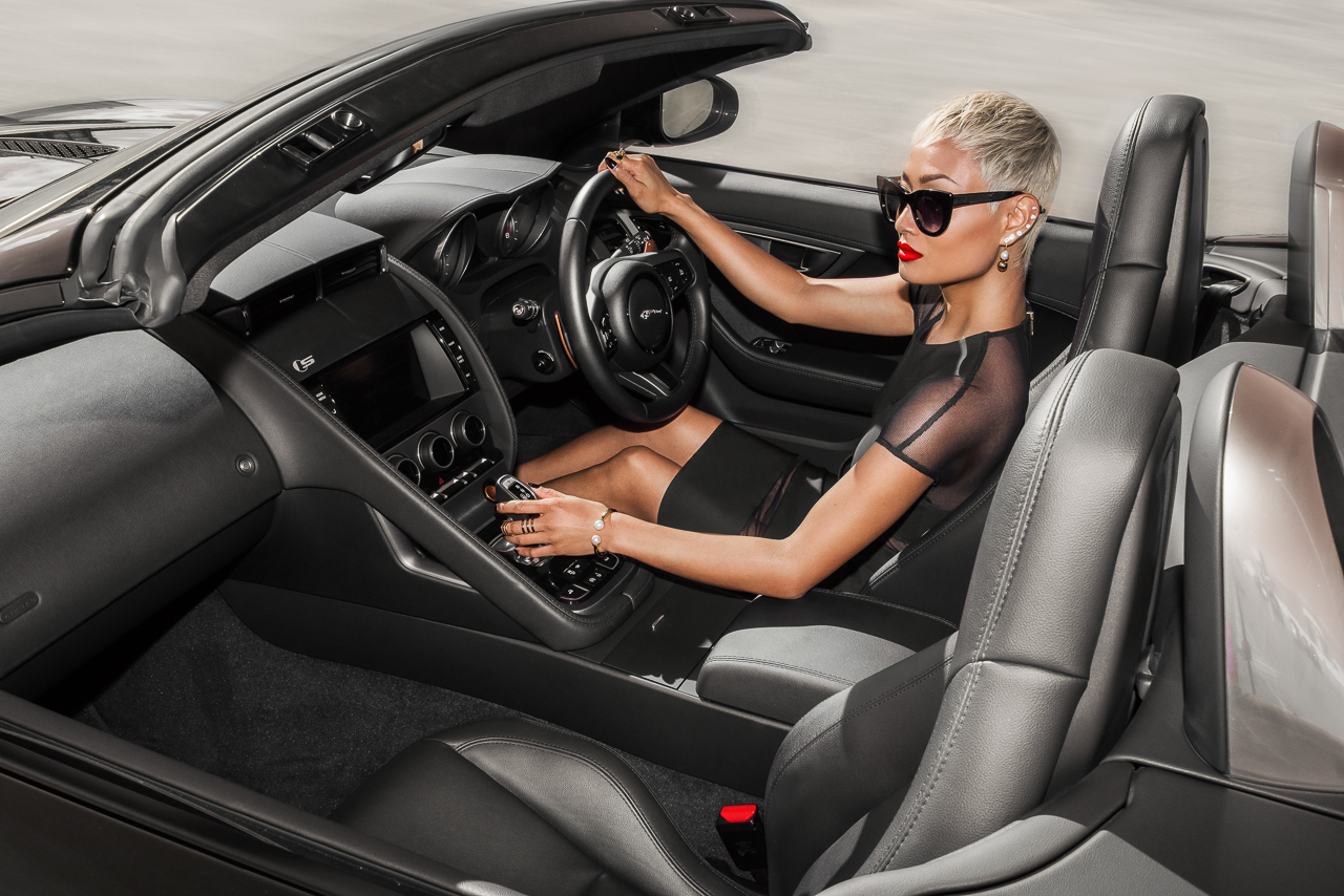 Micah Gianneli_Best Top Australian Fashion Style Beauty Blogger_Jaguar_Jaguar F-Type editorial campaign_Car auto review_Auto blogger_Christian Louboutin_-