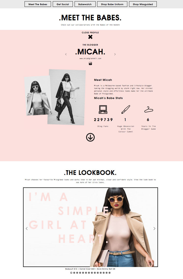 Missguided - Babes -f Missguided - Micah Gianneli - 2