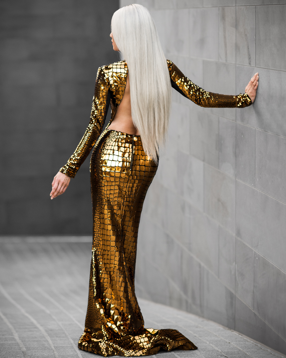 Micah-Gianneli-Freedom-Couture-Hair-Tyson-and-Peppa-Casey-Tanswell-Gold-Fashion-Editorial-Platinum-Blonde-Hair