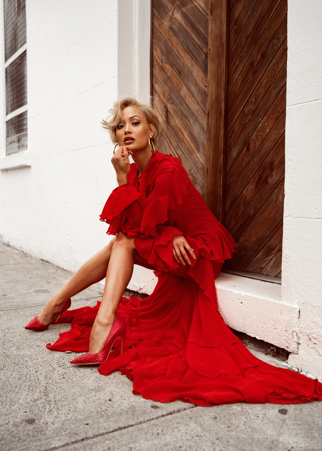 Red Dress Red Shoes